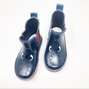 Capelli | Toddler Boys Shark Face Rain Boots